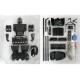 超智机甲入门版 遥控机器人 (散件) Philo Junior (Kit)