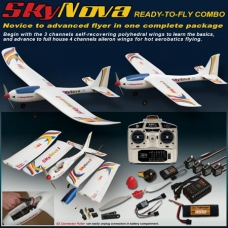 SkyNova 天空新星 充电飞完成套装 (Mode 2 左手油门遥控)